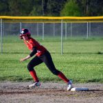 Eagles Fall to the Vikings Twice in Softball
