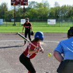 JV Softball splits with Kelloggsville