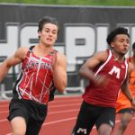 Muskegon All-Star Track Meet—Weeks Two-Time Champion and Sets 200m School Record