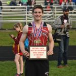 """Bair Wins Coaches Pick For """"Male Athlete of the Meet"""" at the Meet of Champions in Big Rapids; Several Others Earn All-Area Honors"""