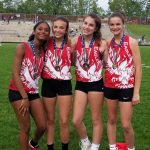MS Track Finishes With Five School Records