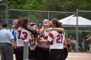 Varsity Softball @ MHSAA Regionals — 6-8-2019