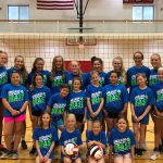 Youth volleyball camp a success; 6th-12th graders camp July 8-10 there is still time to register