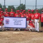 KC Junior Baseball Team Wins District Championship; Heading to State