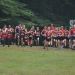 Middle School Boys Cross Country 4th Place at 14 Team CSAA Jamboree, Girls 6th