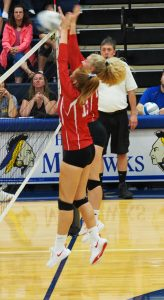 Varsity Volleyball at Morley Stanwood 9/11/19