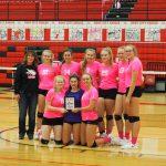 Varsity Girls Win Dig Pink Tournament! 10/12/19