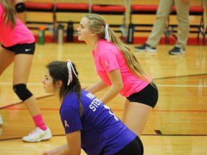Varsity Volleyball hosts Morley Stanwood/Dig Pink 10/16/19