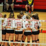 Volleyball ends season with loss to Morley Stanwood in district finals