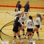 Varsity volleyball earns win #30 for the season