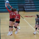Eagles fall to Panthers in tough 5 set match