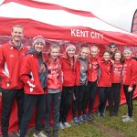 Girls Cross Country 2nd in State Academic Arena!