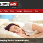 7 Sleeping Tips For Student-Athletes