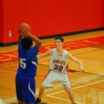 Freshmen Boys fall short against Muskegon Oakridge, 61-50