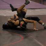 Wrestling Team Downs Lakeview in CSAA Action; Goes 3-2 at Shelby Super Duals