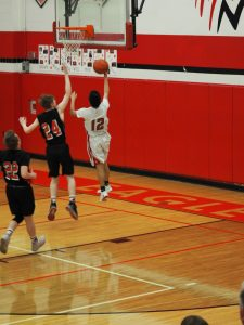 Freshmen Boys with the 46-24 Win over Hart 3.4.20