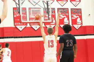 Boys Varsity Basketball vs. Orchard View 3-3-20