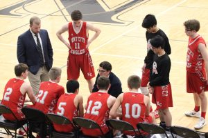 JV Boys Basketball at Newaygo 3-5-20