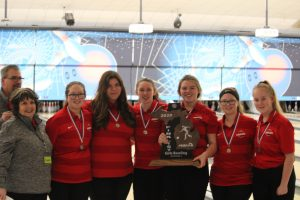 Varsity Girls Bowling @ MHSAA State Finals — Friday, March 6, 2020