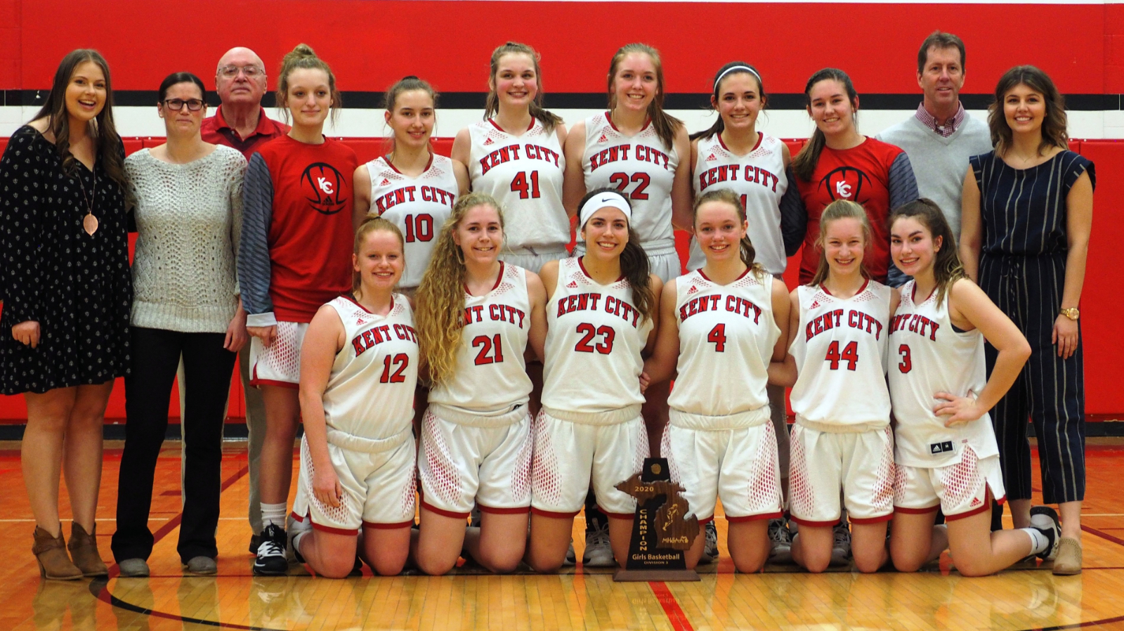 Kent City Girls Basketball Tops in Class C, Boys finish 5th for Academic All-State
