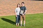 Dolan Bair wins the Class C Rich Tompkins Multi-Sport Athlete Award