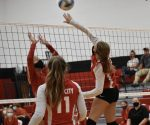 JV volleyball plays tough competition at Covenant Christian