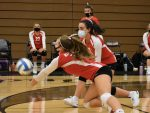 JV volleyball beats the Indians