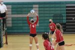 Varsity volleyball falls short in 5 set battle with Morley Stanwood