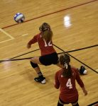 8th grade volleyball wins both matches on Saturday