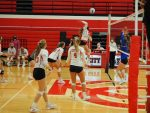 Varsity volleyball defeats Covenant Christian and Sparta