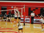 Varsity volleyball sweeps the Panthers