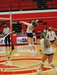 Varsity volleyball beats Tri-County; falls to Ludington