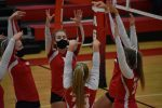JV volleyball beats the Red Devils