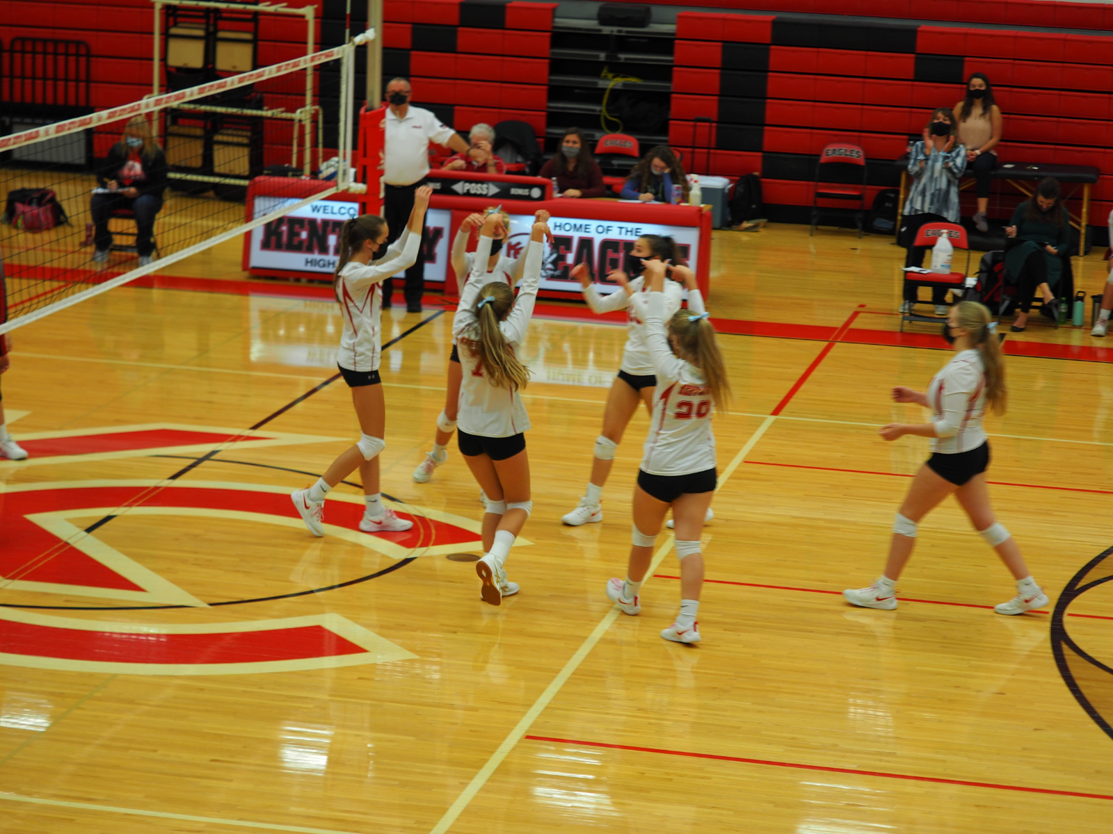 KC Varsity Volleyball sweeps Holton 10/21/20