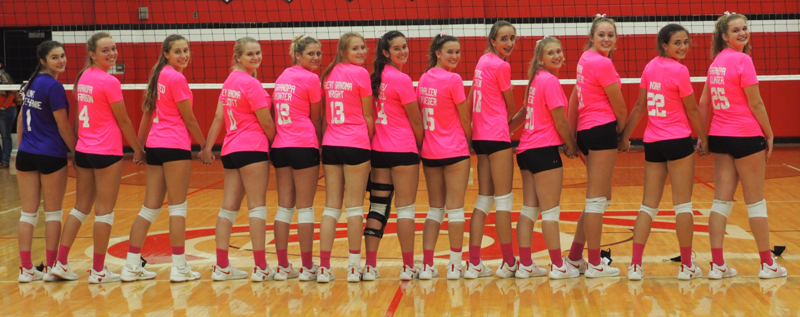 KC Varsity Volleyball (Dig Pink) hosts Lakeview 10/22/20