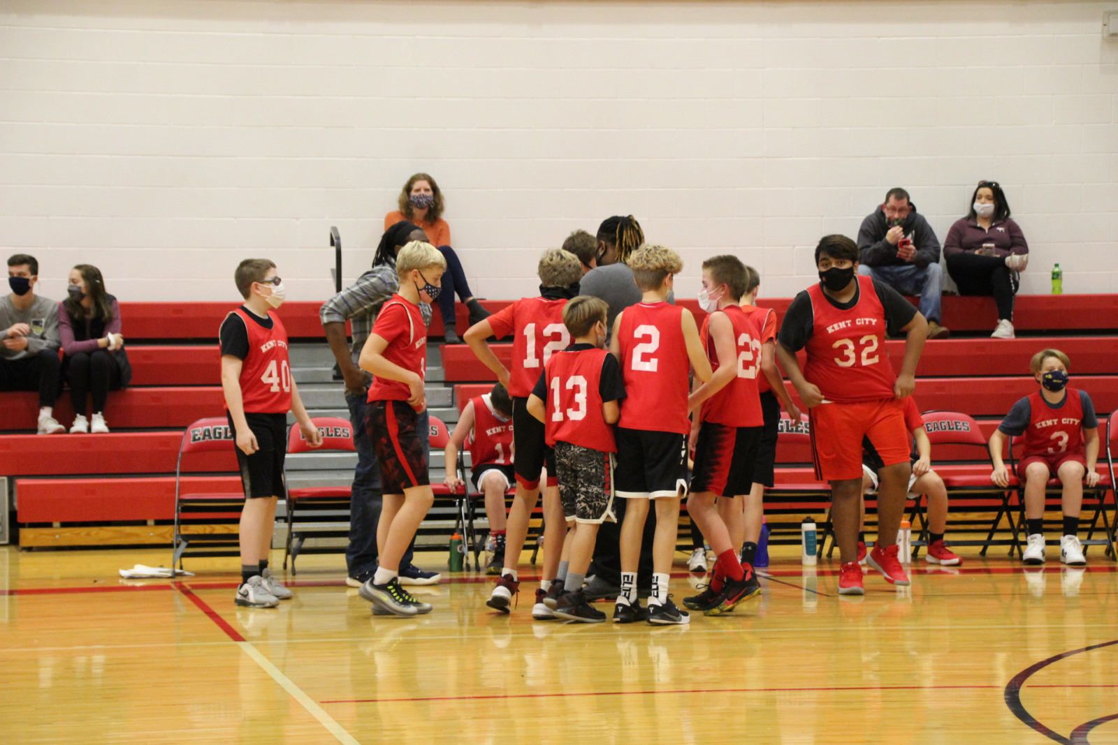 7th grade Boys Basketball vs. Newaygo 11-4-20