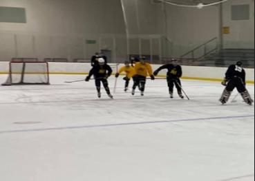 Kent City begins inaugural season with a cooperative varsity hockey team
