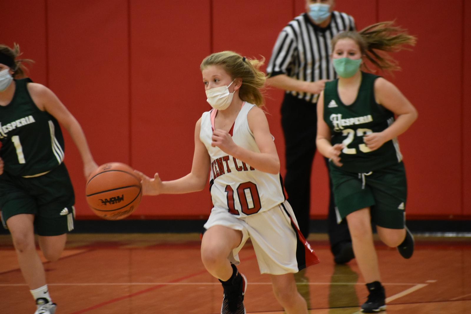 7th Grade Girls Basketball Vs Hesperia