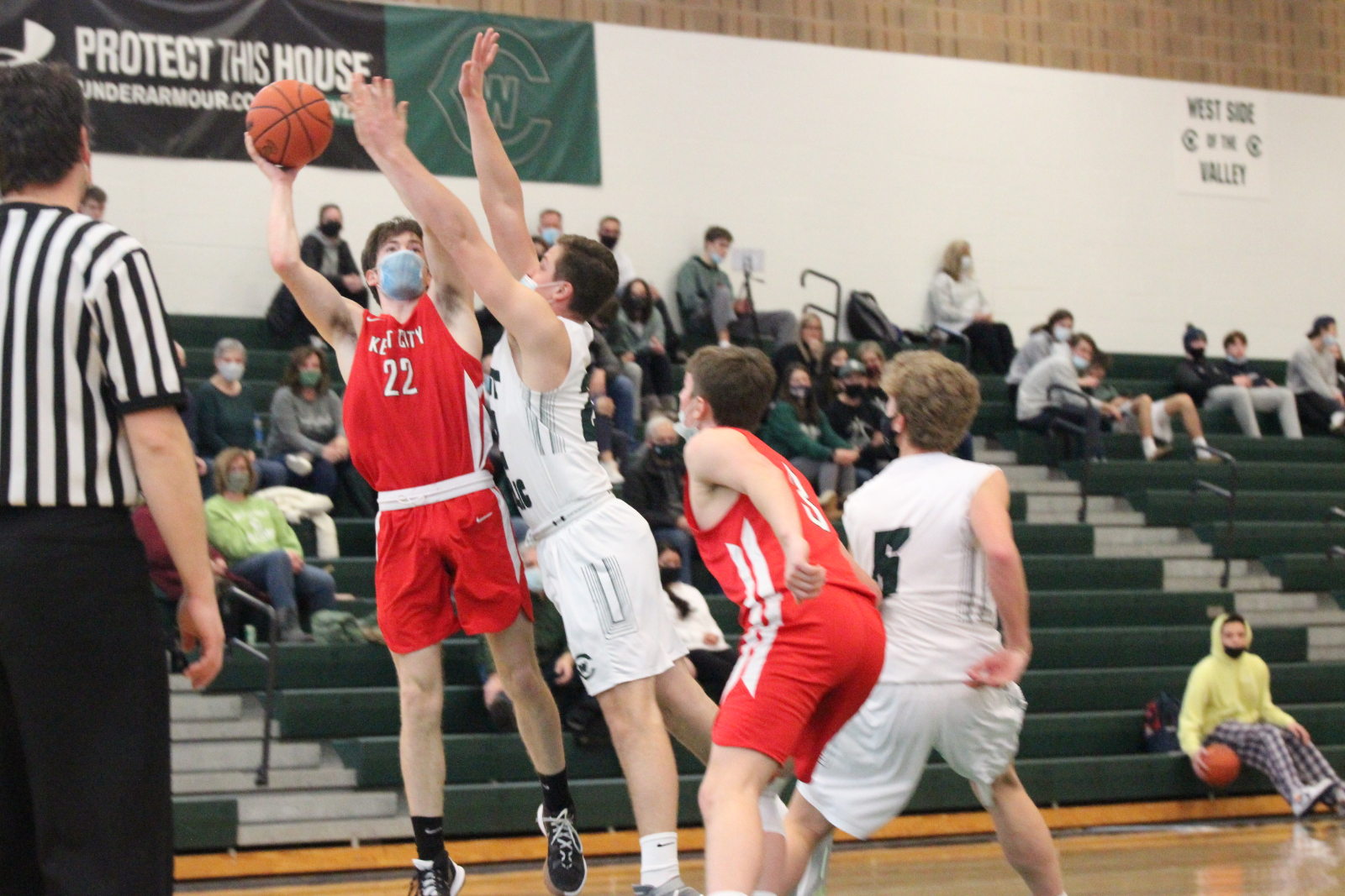 Boys Varsity Basketball @ West Catholic 2-13-21