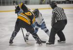 Brock Hearth and the Kent City/Kenowa Hills Co-op Hockey team undefeated in league play