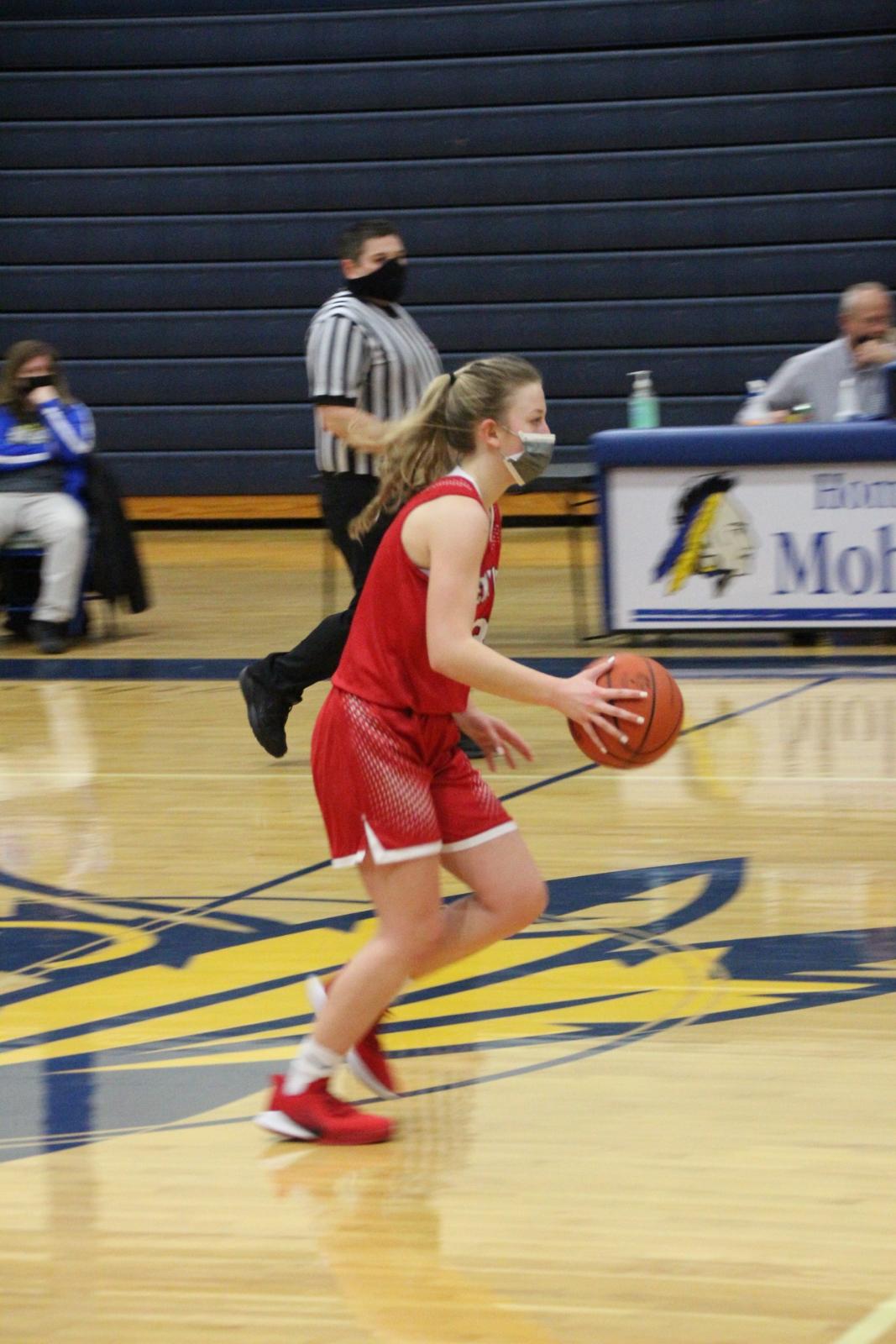 J.V. Girls Basketball vs. Morley Standwood 3-3-21