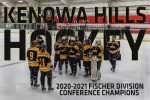 Brock Hearth and the Kenowa Hills Hockey Team are Conference Champions