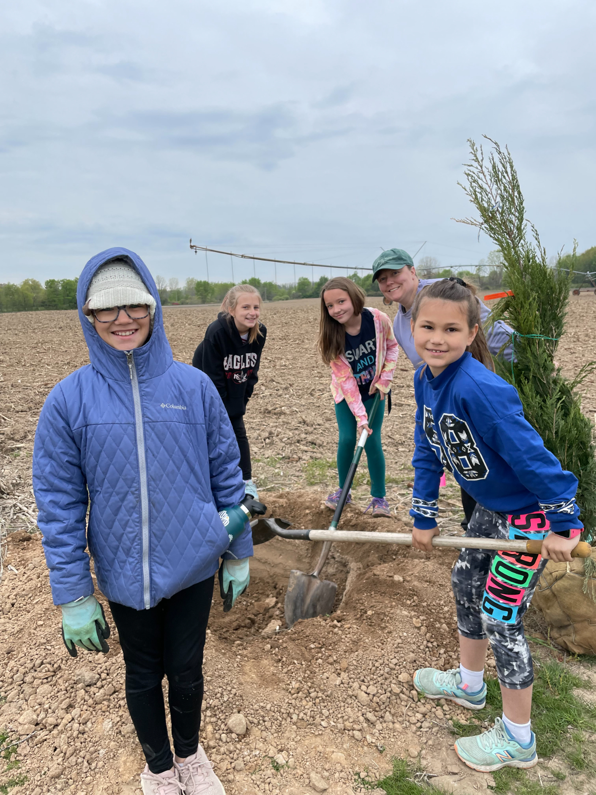 Kent City Cross Country Course Tree Planting — Saturday, May 15, 2021