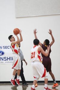 Boys JV Basketball vs. Valley on January 8