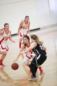 JV Girls Basketball and JV Girls Cheer vs. Heritage Christian
