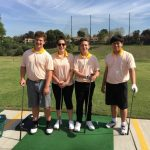 JV Golf plays Fullerton High at Fullerton Golf Course
