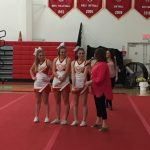 Honoring Senior Cheer and Song Leaders