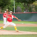 Whittier Christian High School Varsity Baseball falls to Village Christian High School 2-1