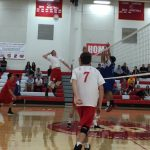 Whittier Christian High School Boys Varsity Volleyball falls to Los Altos 3-0
