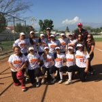 Whittier Christian High School Varsity Softball beat Bell Gardens High School 9-1